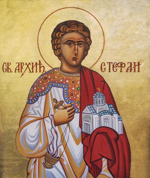 St. Stephen (Stefan) Icon- Icon II