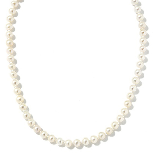 """14KT Children's Simulated Pearl Necklace- 13"""""""