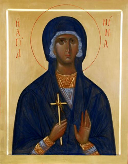 St. Nina Icon