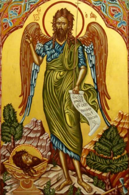 St. John the Baptist Icon- Icon III