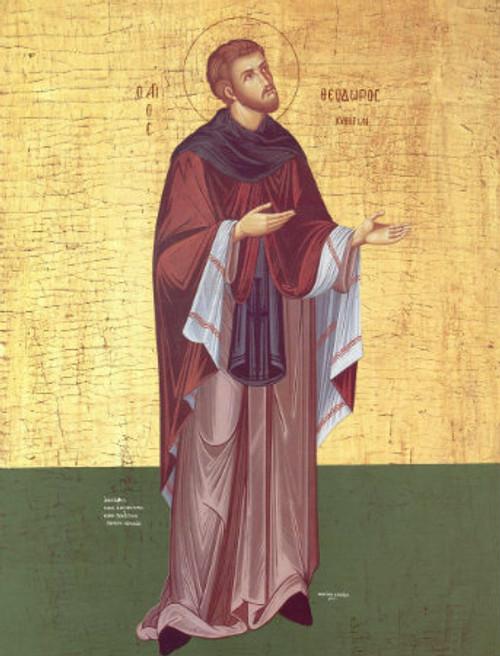 St. Theodore Icon
