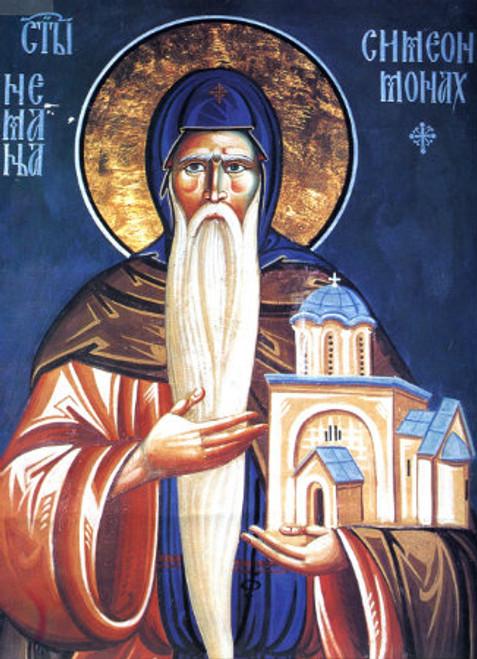 St. Simeon Mirotocivi Icon