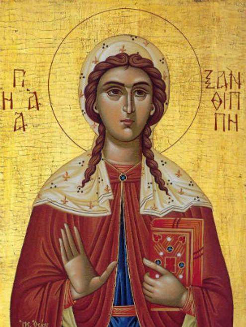 St. Xanthippi Icon