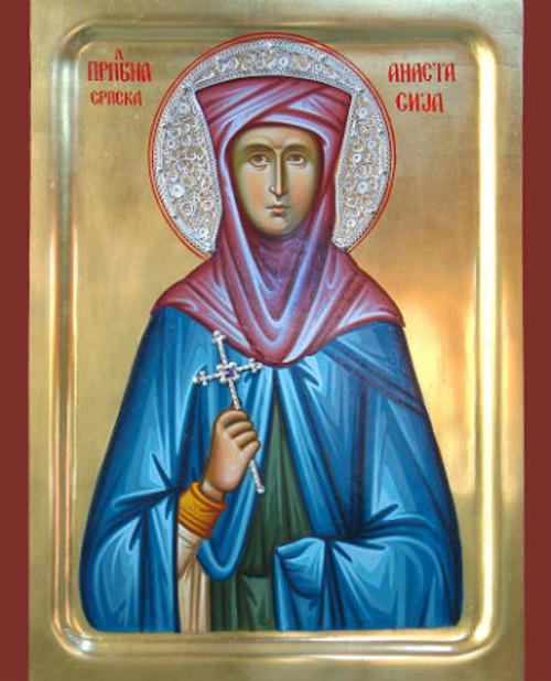 St. Anastasija of Serbia Icon