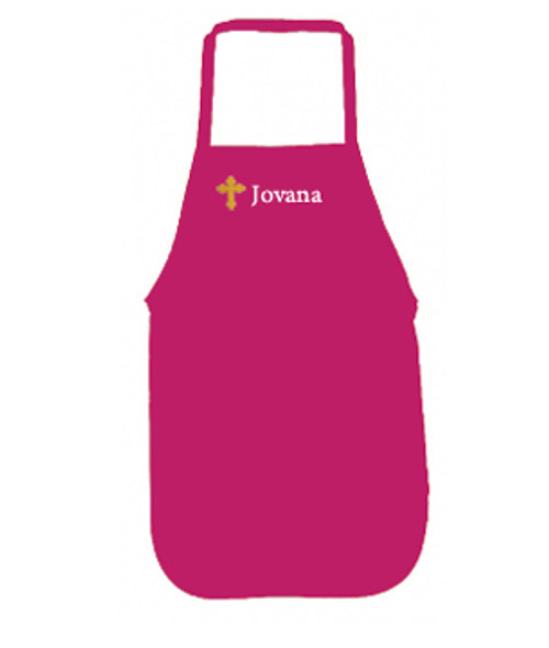 Embroidered Apron- Personalized in ANY LANGUAGE!  MORE COLORS!
