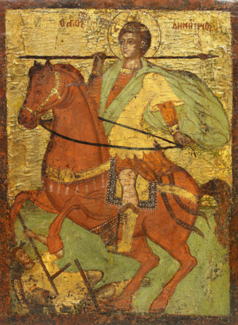 St. Demetrios Icon- Icon VII