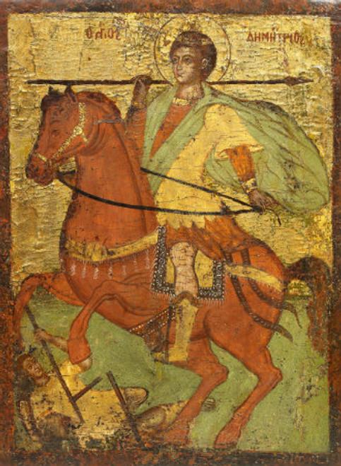 St. Demetrios Icon- Icon VII