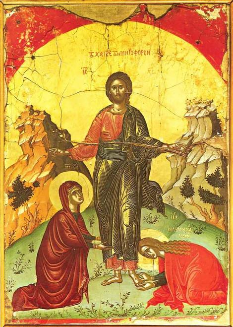 Greeting of Myrrh Bearing Women Icon