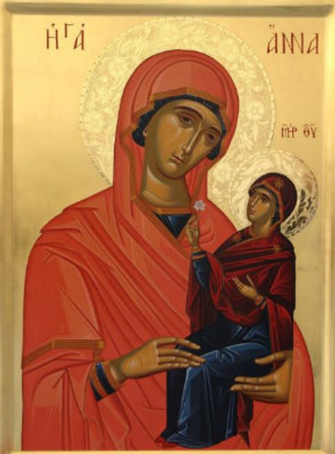 Righteous Anna (Mother of the Theotokos) Icon- Icon II
