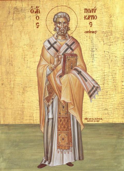 St. Polycarp icon