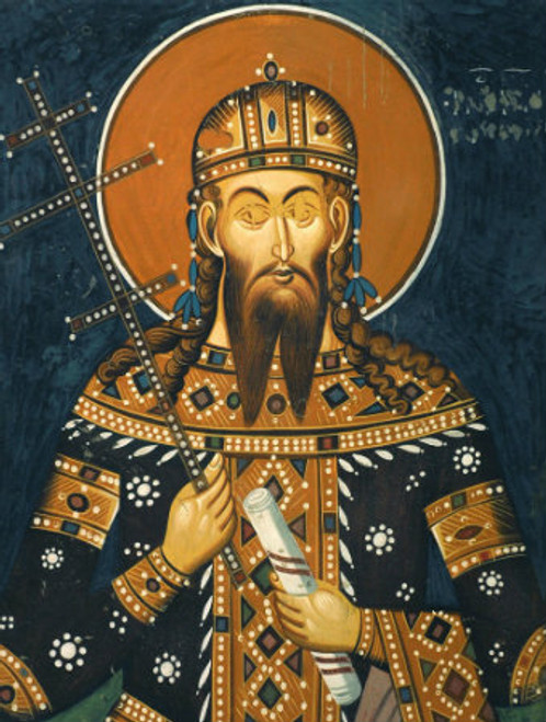 St. King Stefan Uros V Icon