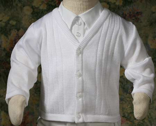 Boys Extra Fine Acrylic Sweater (Infant Sizes)