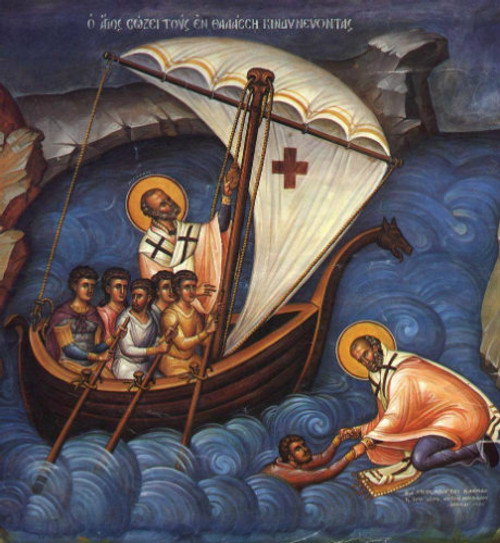 St. Nicholas the Help of Mariners Icon