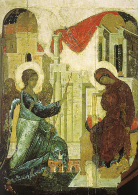 Annunciation Icon (Rublev)
