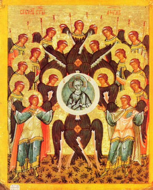 Synaxis of the Archangels Icon