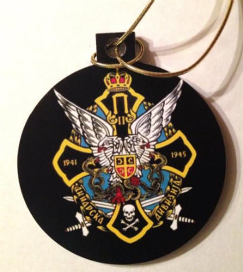Serbian Chetnik Acrylic Christmas Ornament