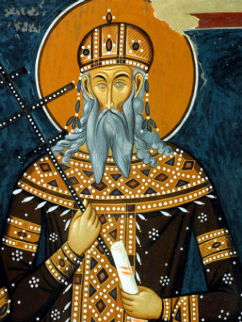 St. King Vukasin Icon