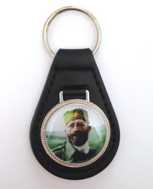 Cika Draza Leather Keychain