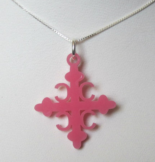 """Shown here with Sterling Silver Box Chain- 16"""""""