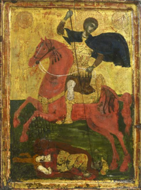 St. Demetrios Icon- Icon IX