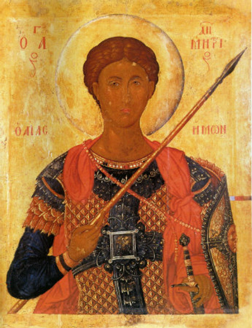 St. Demetrios Icon- Icon VIII