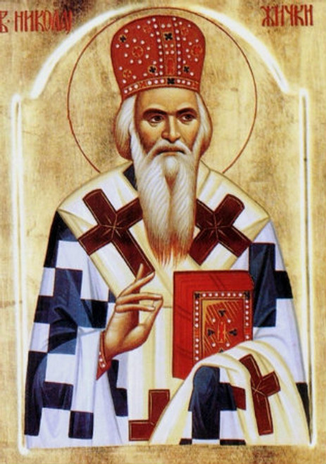 St. Nikolaj of Zica Icon