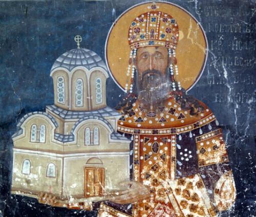 St. King Milutin Icon