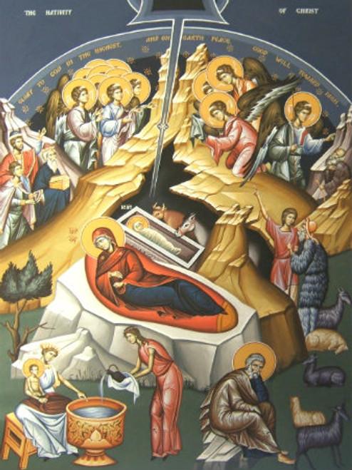 Nativity of Christ Icon- Icon IX