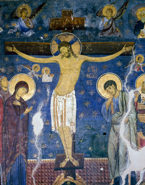 Crucifixion Icon- Icon IV (Studenica)