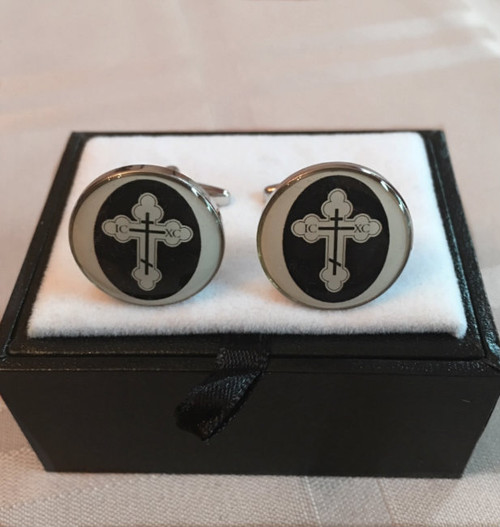 Orthodox Cross Cufflink Set
