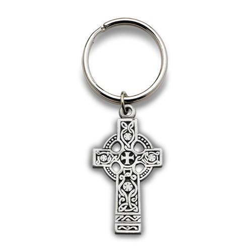 Celtic Cross Key Chain