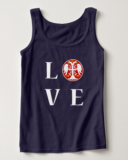 Women's Serbian Love Tank Top
