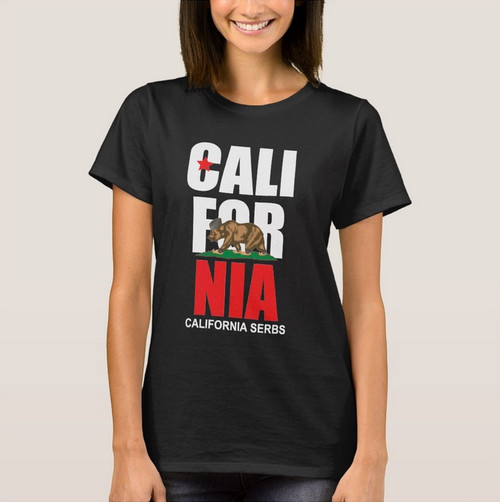 California Serbs Ladies Tee