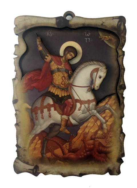 3-D Magnet: St. George the Greatmartyr