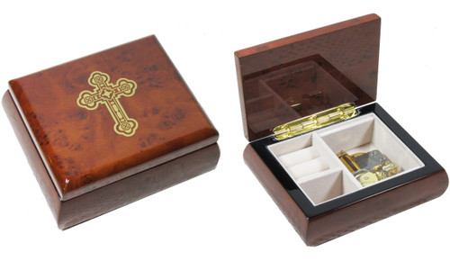 Christos Anesti Paschal Troparion Music Keepsake Box