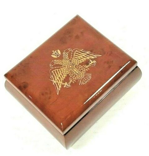 Byzantine Eagle Wooden Keepsake Box