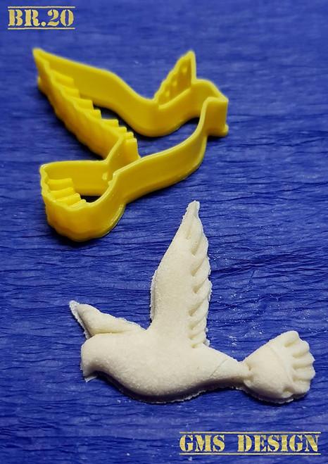 Serbian Bread Stamp/ Cookie Cutter- Dove No. 1