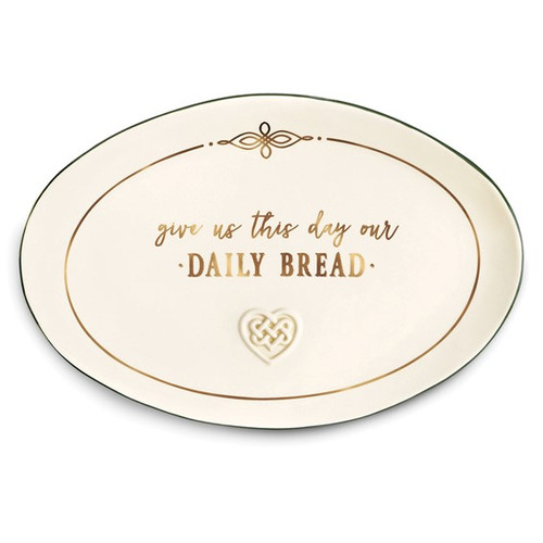 Our Daily Bread Ceramic Platter