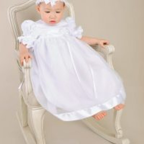 Clarice Infant Baptismal Gown