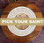Pick-Your-Saint Engraved Acacia Wood Slava Kolach Plate