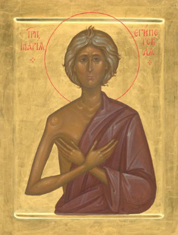 St. Mary of Egypt Icon- Icon IV