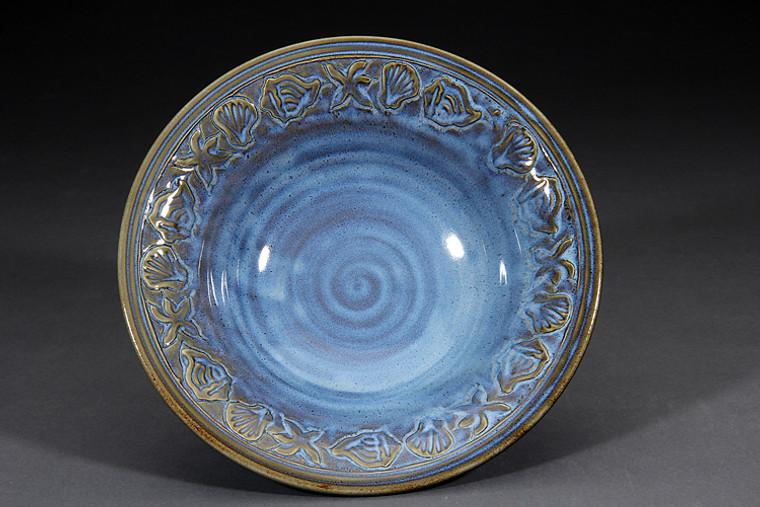 Serving Bowl-denim glaze