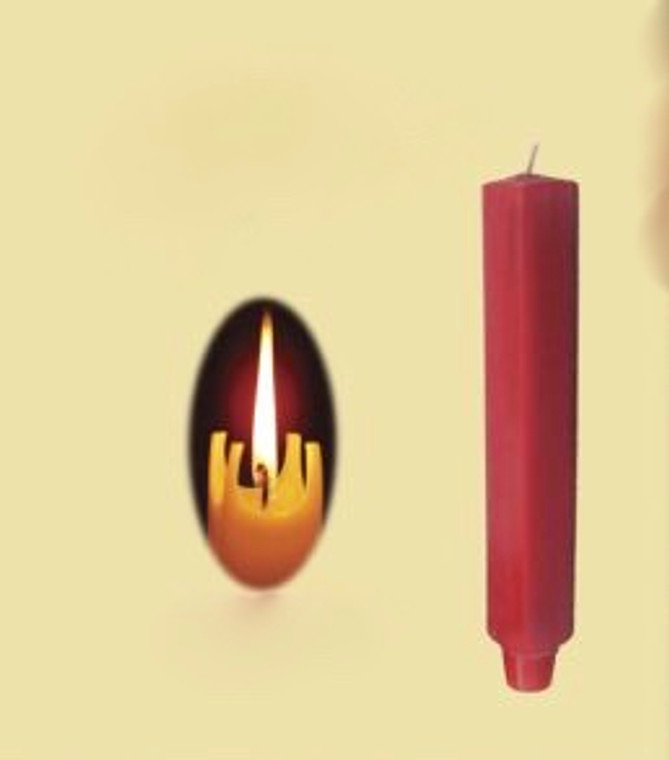 Square taper candle pair-12""