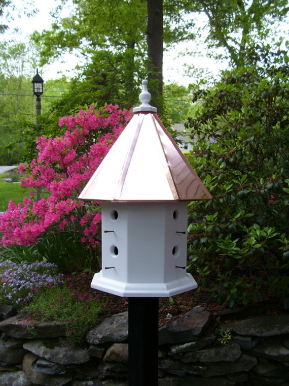 The Maria birdhouse-copper roof
