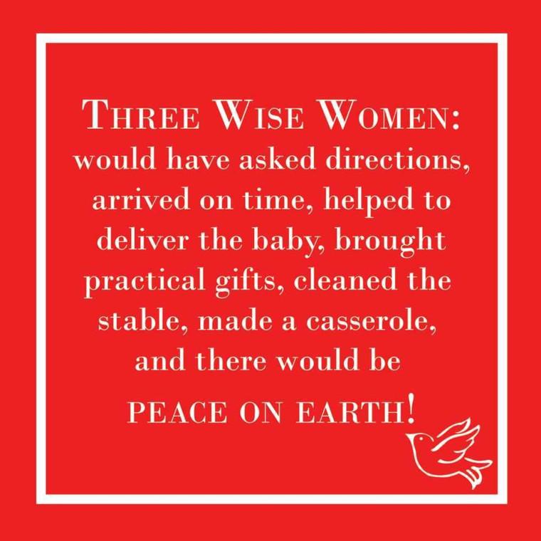 Three Wise Women Napkins