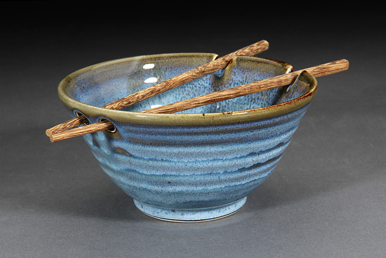 Ramen Bowl-Denim Glaze