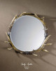 Stag Horn Round Decorative Wall Mirrors