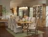 "Trestle Salvaged Wood Dining Table 87"""