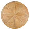Opio Reclaimed Wood Round Kitchen Table Top