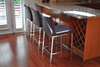 Aria Chrome Counter Stool